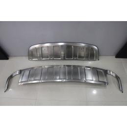 rajout de pare choc chrome audi q7 2011 mhm tuning. Black Bedroom Furniture Sets. Home Design Ideas